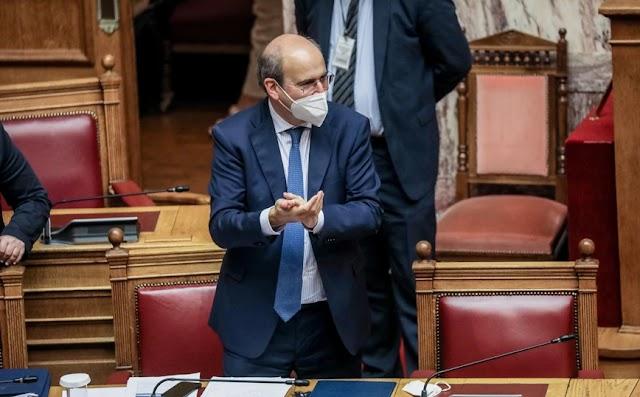Χατζηδάκης για αποτέλεσμα ψηφοφορίας του εργασιακού νομοσχεδίου: Περιμένουμε εξηγήσεις από τον ΣΥΡΙΖΑ
