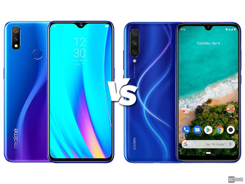 Realme 3 Pro vs Xiaomi Mi A3 Specs Comparison