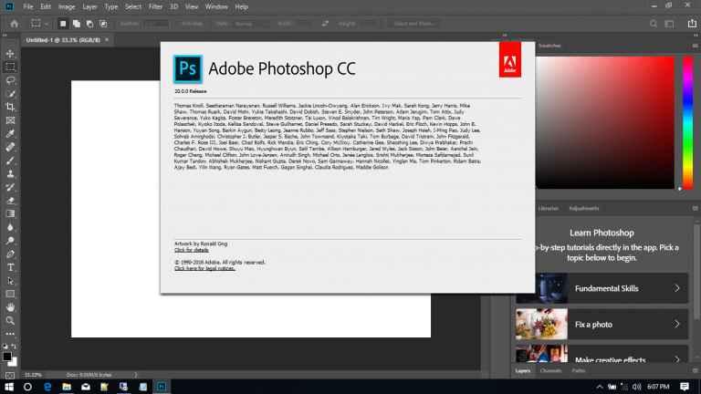 Adobe Photoshop CC 2019 v20.0.0 Full Free Download