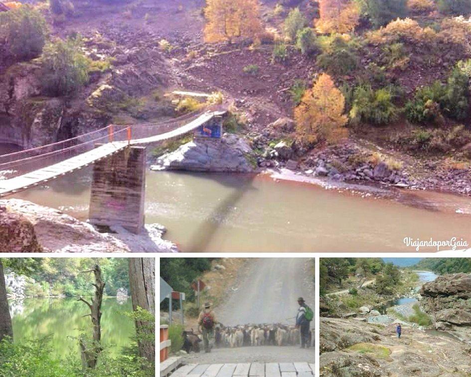 El Puente El Inglés, Laguna de La Plata, arrieros y El Caracol.