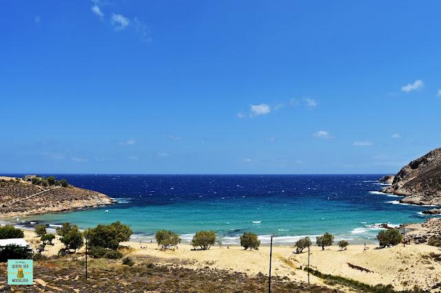Psili Ammos, isla de Serifos (Grecia)