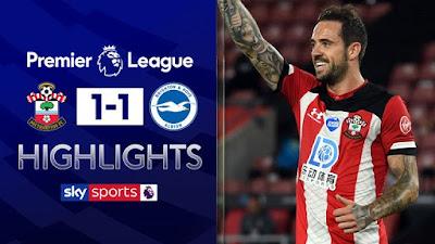Video Southampton 1-1 Brighton: Vòng 36, Ngoại Hạng Anh