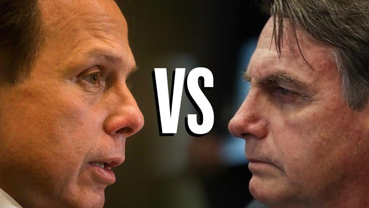 Bolsonaro e Doria