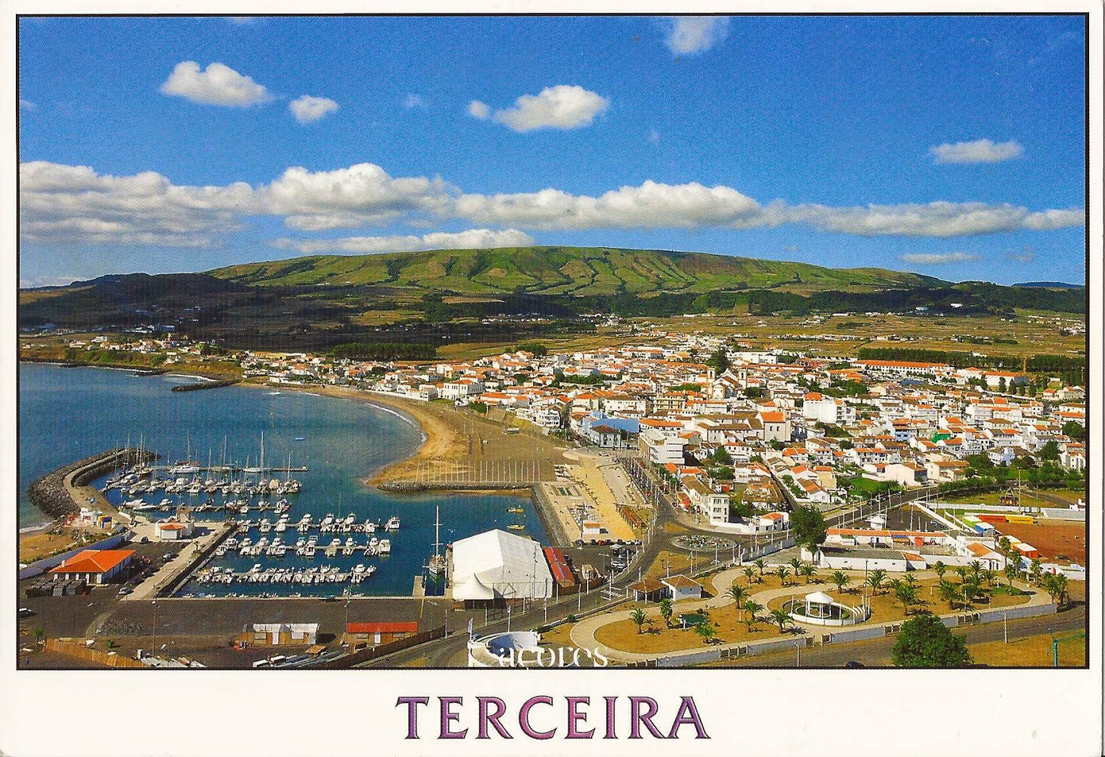 Colorful Cities A Journey Of Postcards Terceira Island Azores