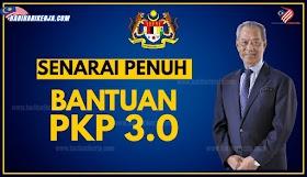 SENARAI BANTUAN PKP 3.0