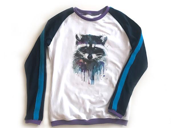 Rocket Shirt - noch ein weiteres Mädchenshirt, das keine Prinzessin drauf hat