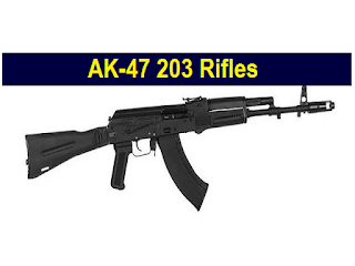 India and Russia finalised Deal to Manufacture AK-47 203 Rifles