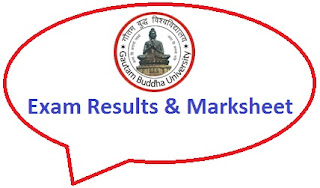 Gautam Buddha University Result 2020