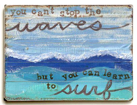 Ocean Wave Pillow