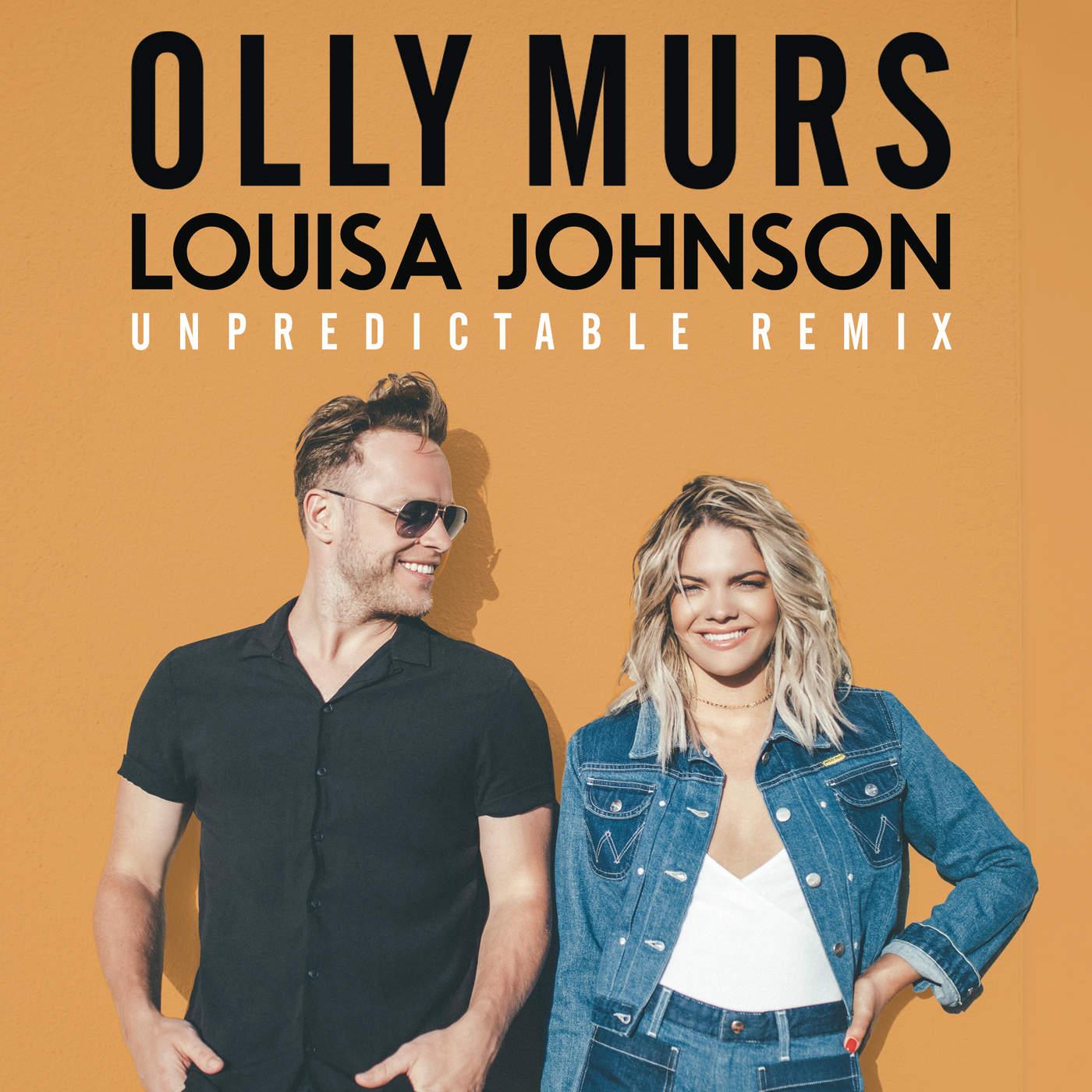 Olly Murs - Unpredictable (John Gibbons Remix) - Single Cover