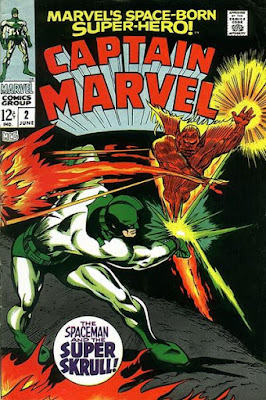Captain Marvel #2, the Super-Skrull
