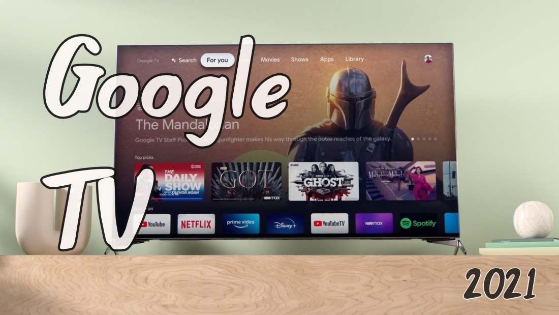 Interfaz GOOGLE TV