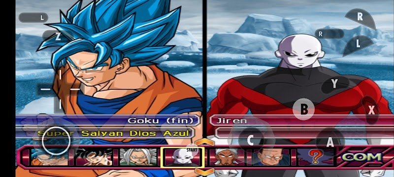 Dragon Ball Z: Budokai TENKAICHI 3 on Android with Faster dolphin wii Emulator