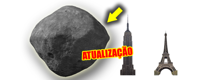 bennu pode colidir com a terra segundo a NASA