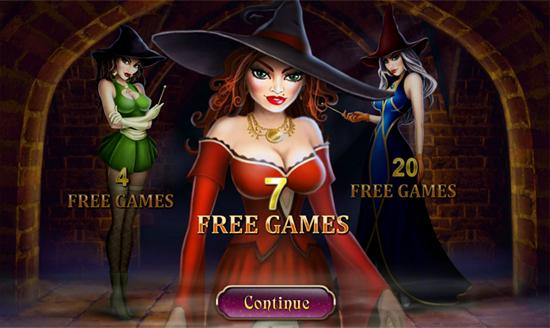 Bonus Level 1-1 Halloween Fortune Slot Online