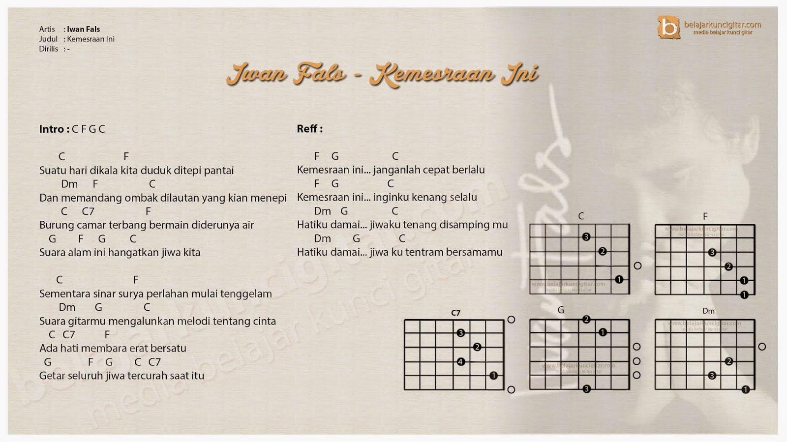 Chord Gitar Lagu Pdf