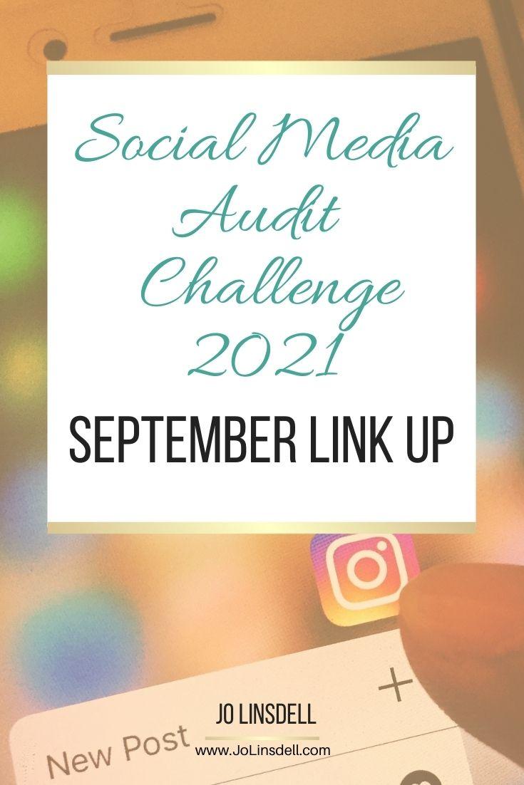 Social Media Audit Challenge 2021 September Link Up