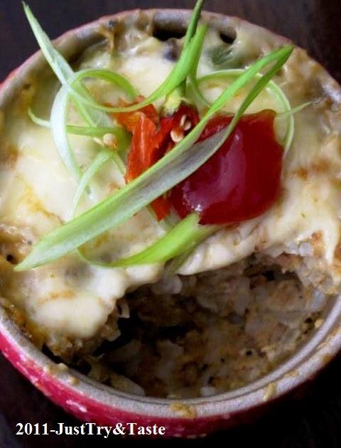 Resep Nasi Panggang Isi Tuna Kacang Polong Jamur Dan Keju Just Try Taste