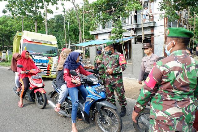 KodimKaranganyar - Sinergitas TNI Dan Polri Dalam Percepatan Penanganan Covid 19
