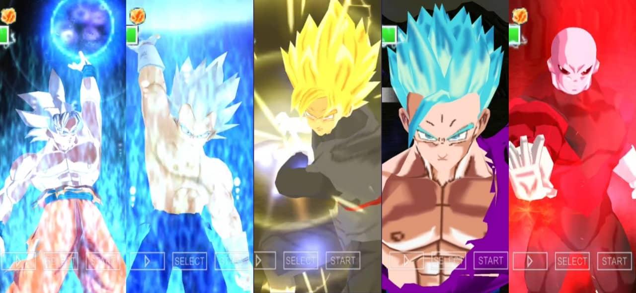 Dragon Ball Super Goku And Vegeta New Transformations