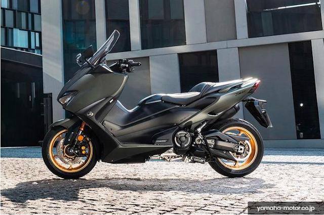 Yamaha TMAX 530 Mesin Baru 560 cc Launching MeI 2020