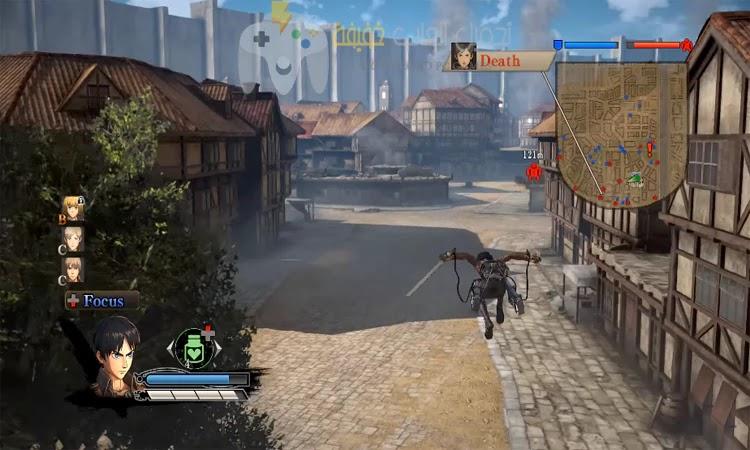 تحميل لعبة هجوم العمالقة 1 و 2 للكمبيوتر من ميديا فاير