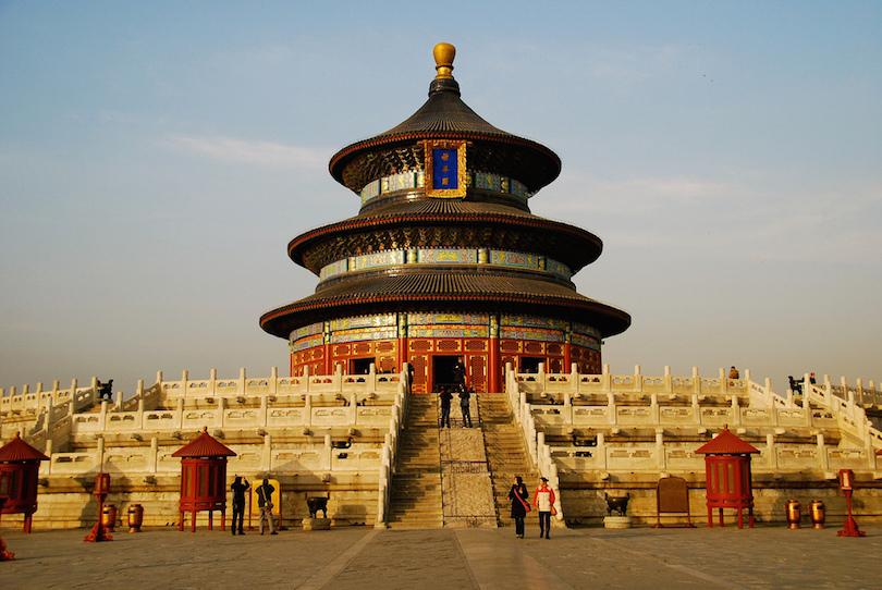 اجمل المعابد في الصين