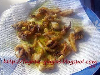 Σουπιές τηγανιτές - από «Τα φαγητά της γιαγιάς»