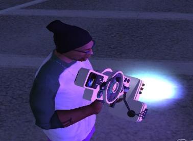 "GTA SanAndreas ""Dubstep Gun"" Dans Ettiren Silah Modu İndir"