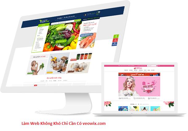 Thiết kế website đẹp tại veotemplate
