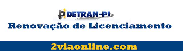 Licenciamento DETRAN-PI: aprenda a gerar boleto