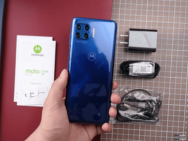 Moto G 5G Plus back