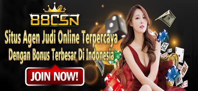 88CSN Bandar Bola Online Terpercaya Dengan Bonus Terbesar Di Indonesia