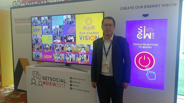 智庫成員赴新加坡參加國際能源週(SIEW)系列會議