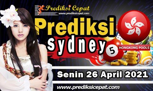 Prediksi Togel Sydney 26 April 2021