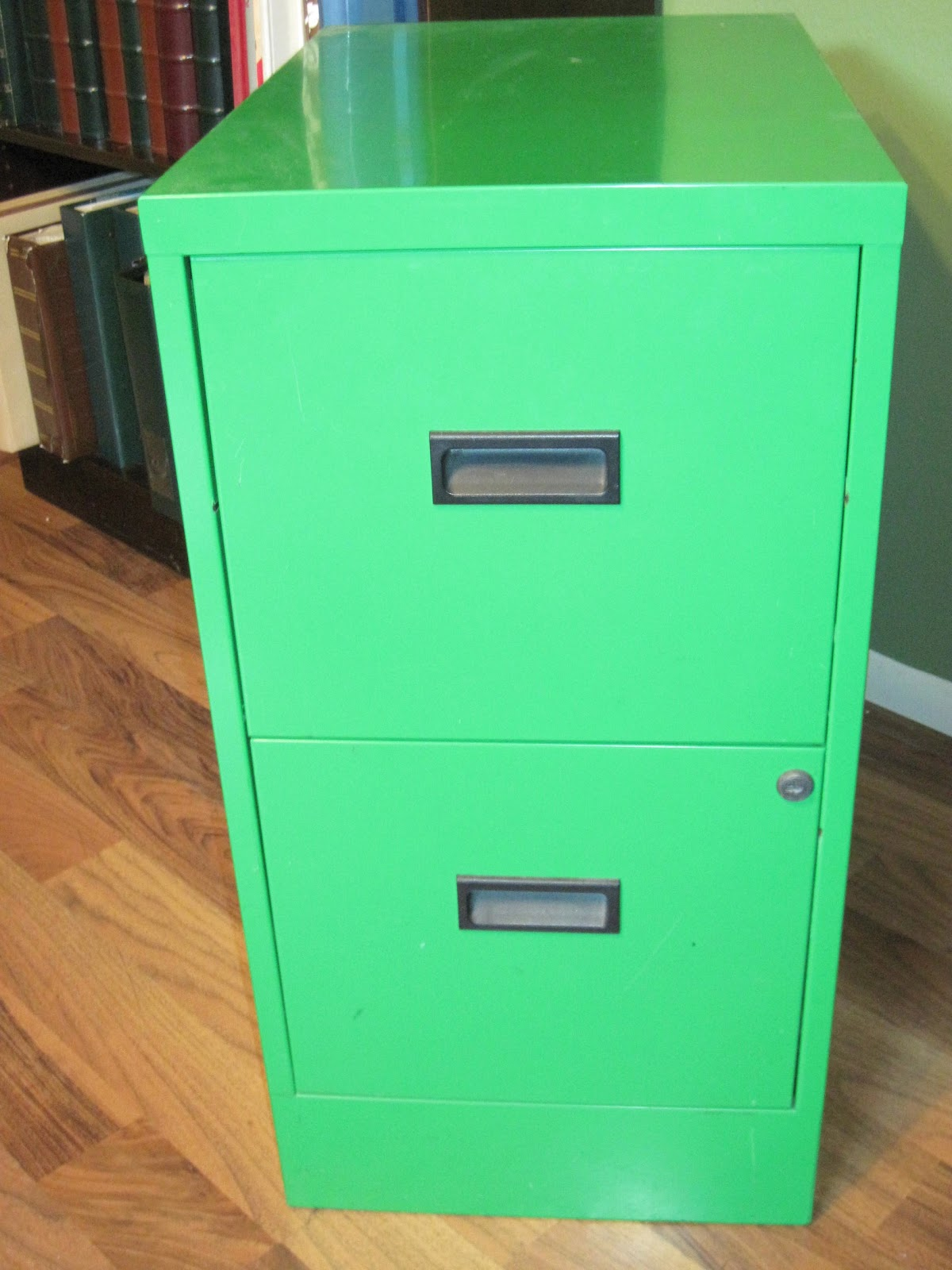 Life In The Car Line Simple Filing Cabinet Makeover