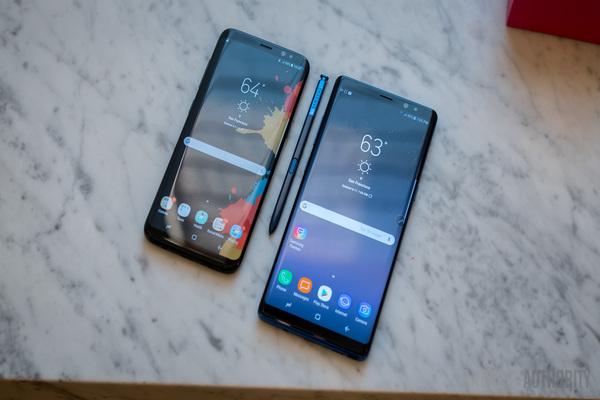 عدد من مستخدمي Galaxy S8 و Galaxy Note 8 يبلغون عن مشاكل في الجهازين