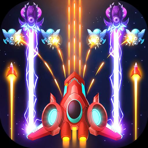 تحميل لعبه Air Strike – Galaxy Shooter v0.3.6  مهكره بالكامل للاندرويد