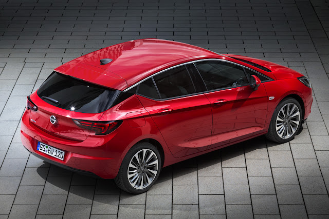 Opel Astra K Lighter and More Efficient