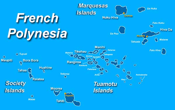 polinesia francesa mapa POLINESIA FRANCESA   MAPAS GEOGRÁFICOS DE LA POLINESIA FRANCESA  polinesia francesa mapa