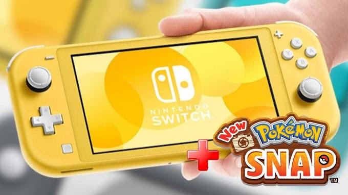 Sorteio Nintendo Switch Lite + New Pokémon Snap