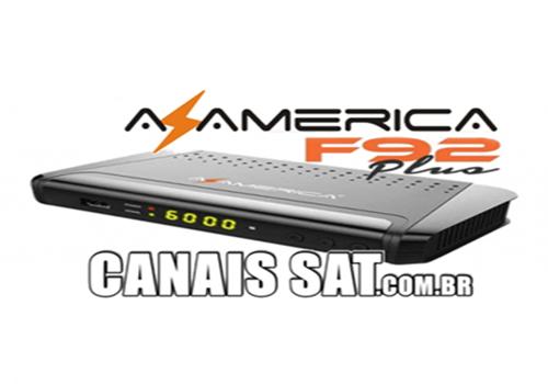 Azamerica F92 Plus Atualização V1.12 - 11/09/2020