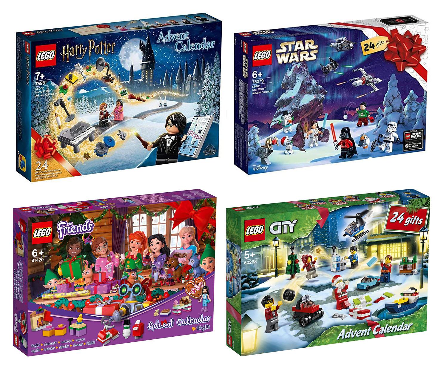 レゴ(LEGO) アドベントカレンダー【ハリポタ、スター・ウォーズ、シティ、フレンズ】