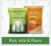 Rice, Atta and Flours