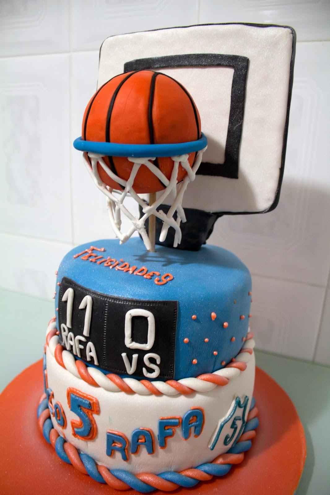 Tarta Canasta de baloncesto