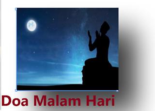 Doa Di Malam Hari