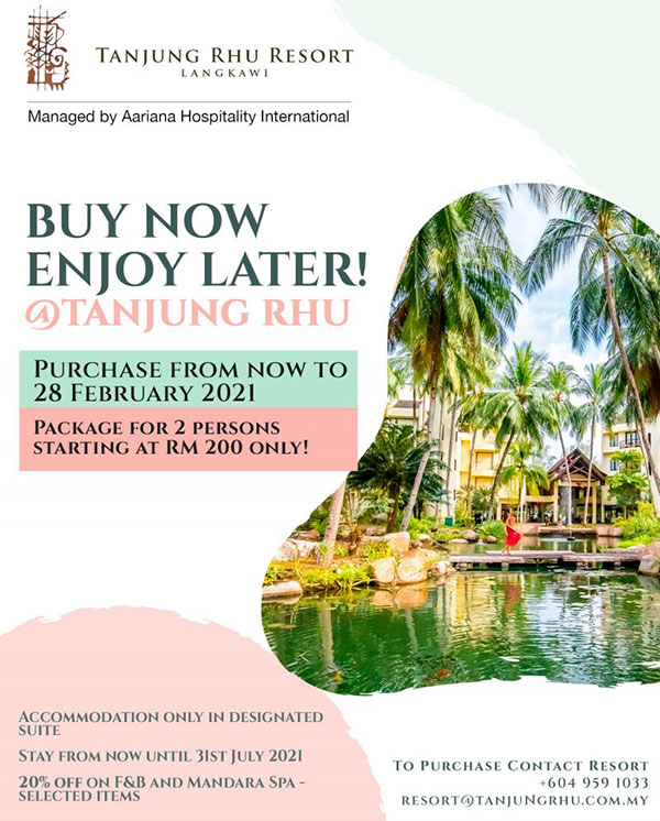 Tanjung Rhu Resort Promotion 2021