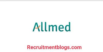 Fresh graduates Data Entry Specialist At allmed pharmaceutical company
