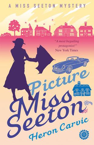 Lot of 8 Miss Seeton mystery series by Hamilton Crane, Heron Carvic