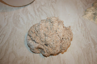 wholemeal bread dough